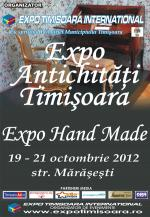 Expo Antichități Timișoara & Hand-Made - ediția a XXXIV-a, 19-21 octombrie 2012