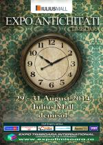 Expo Antichități Timișoara, ediția a LXXVI-a, 29-31 august 2014